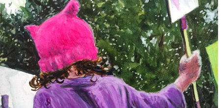 Purple Girl Wins Second Place at Southern Arts Society