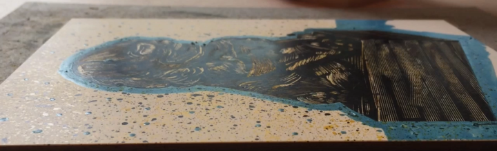 2 Videos Using Color with Scratchboard and Clayboard
