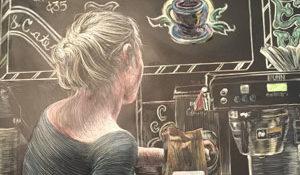 Chalkboard Barista