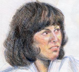 portrait of Sladen as Sarah