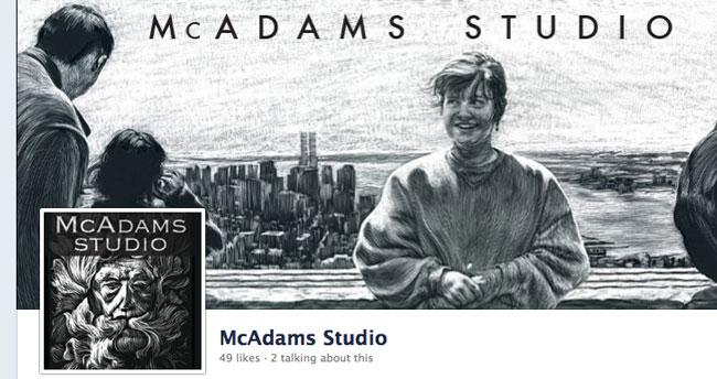 McAdams Studio Facebook Page